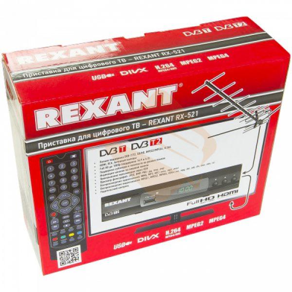 Приемник DVB-T2 RX-511 REXANT на 1 тв c установкой