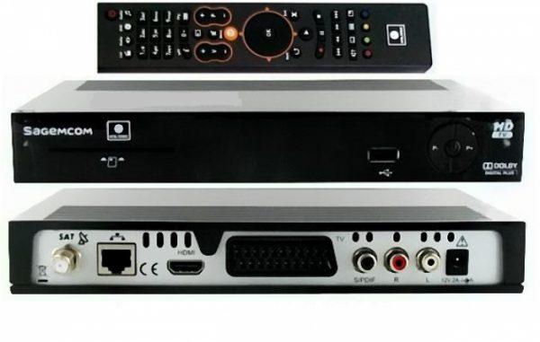 Ресивер НТВ плюс Sagemcom dsi74 с установкой