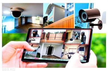 монтаж видеонаблюдения под ключ на даче