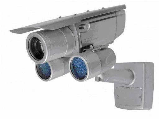 Поворотная камера видеонаблюдения