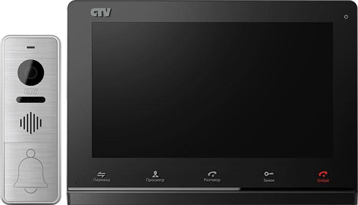 Домофон CTV черный